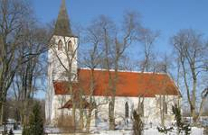 Church of St Lawrence in Pühalepa